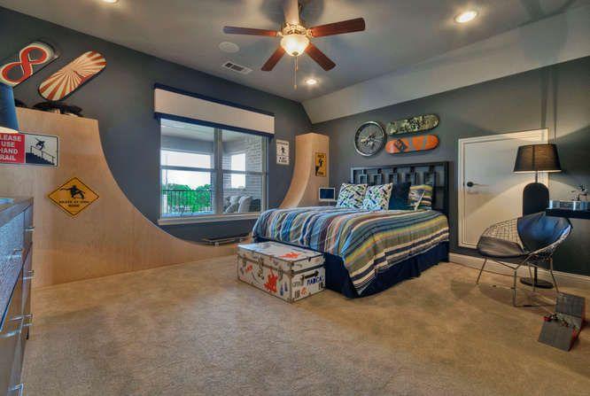 Display Vintage Sports Boys Bedroom Ideas