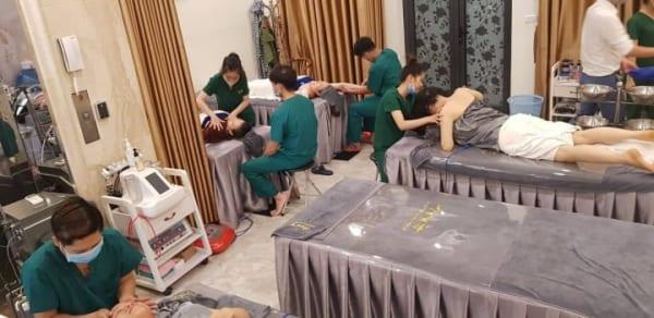 Vì sức khỏe cộng đồng tổ chức tại spa Mia Lyn, Quảng Ninh.