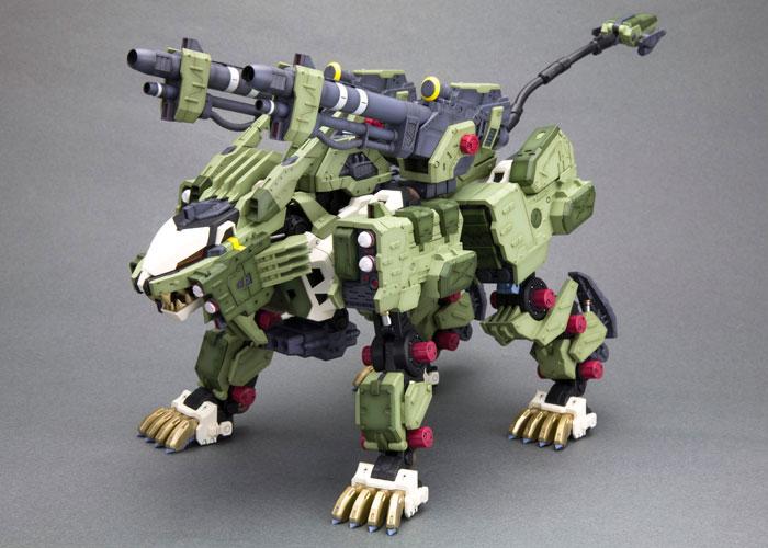 [附專屬貼紙] Kotobukiya / HMM / 機獸新世紀 ZOIDS 洛伊德 / RZ-041 零式.邦吒長牙獅 Marking Plus ver. 組裝模型