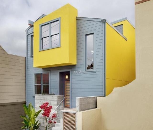 warna cat dinding luar rumah yang cerah