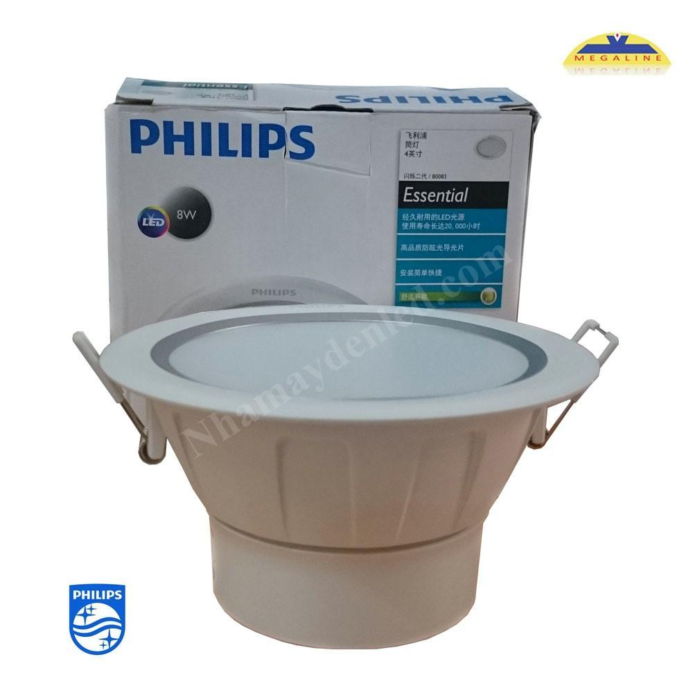 Đèn led Silver 80083 LED Philips tạo ánh sáng có tính trung thực cao