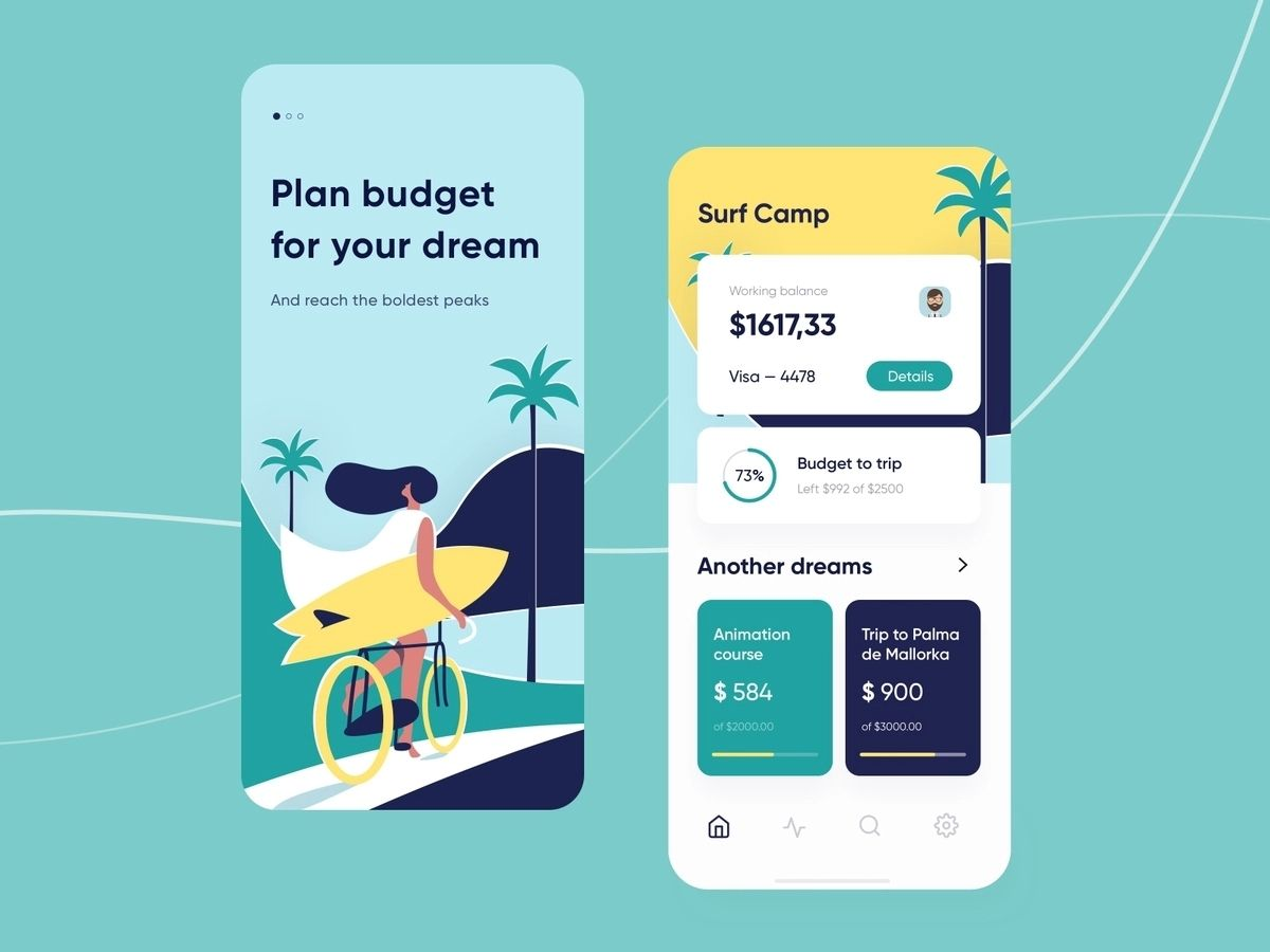 Budget tracking or Expenses Management app built using react native technology