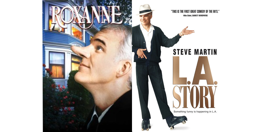 Quarantine Double Feature - roxanne & l.a. story