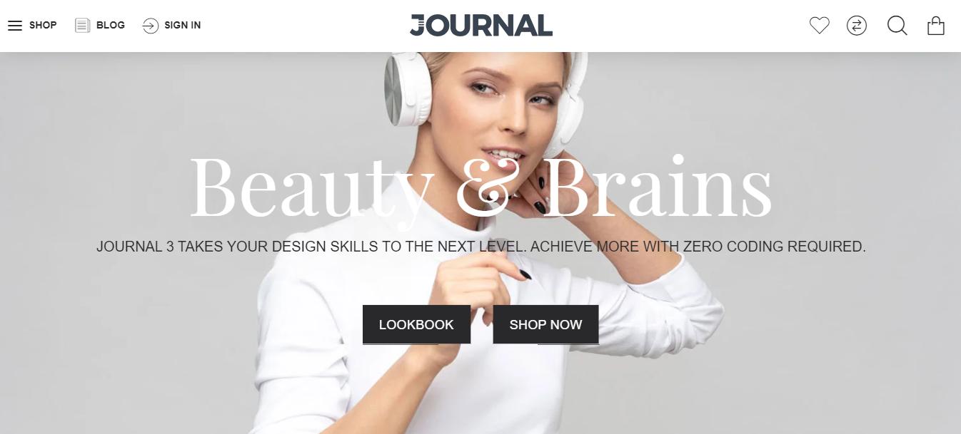 Journal - Opencart multi vendor theme