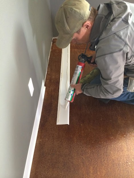 To Install Rubber Cove Base Moulding