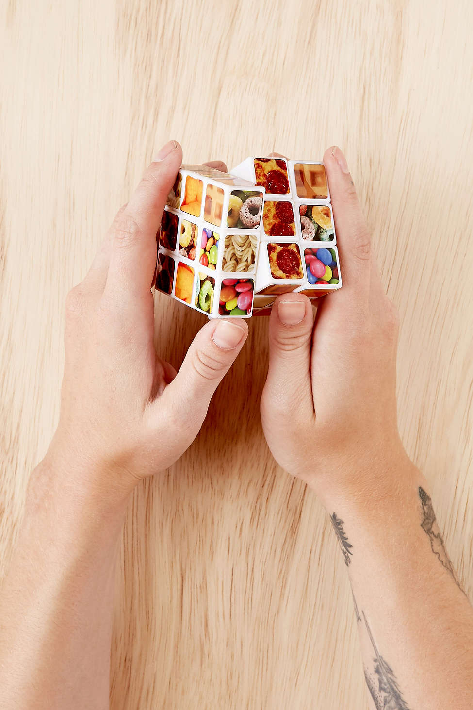 Snack Puzzle Cube