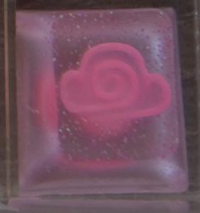Amidst The Clouds - GemHeart - Pink Cloud Cap