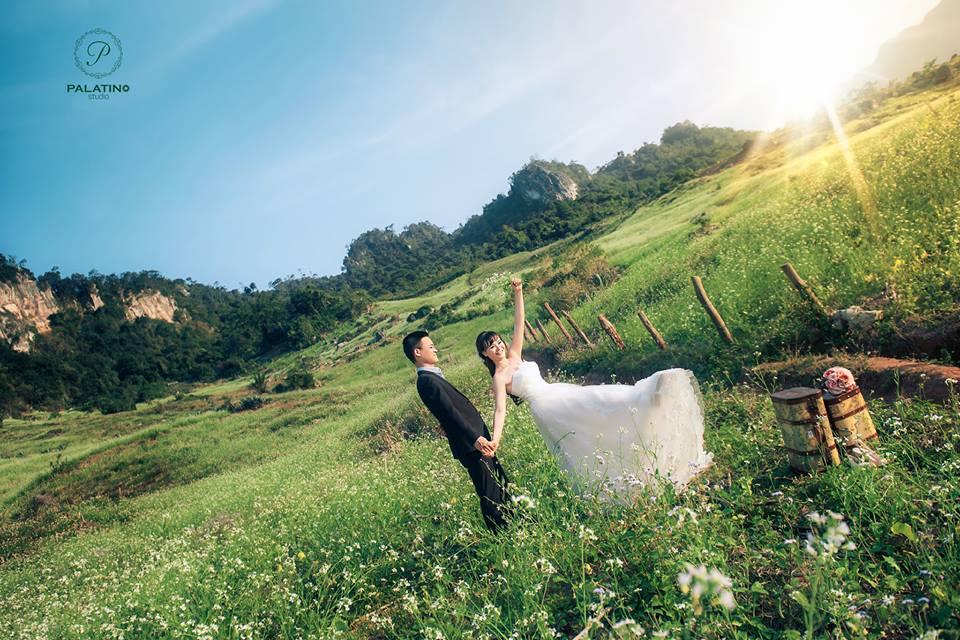 chụp ảnh cưới mộc châu ở palatino studio