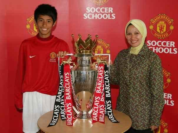 Hanif Sjahbandi at Manchester United