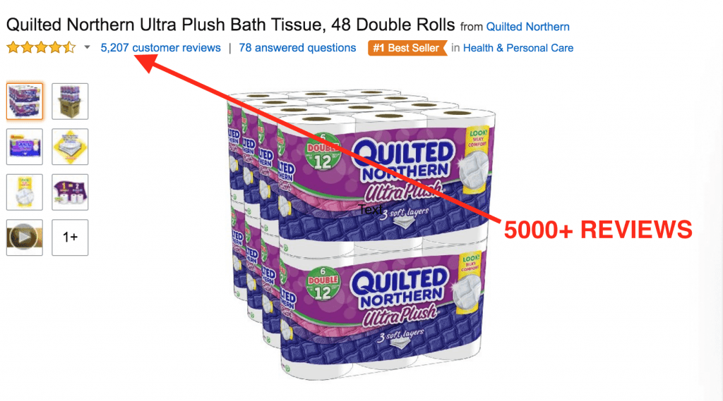 This toilet paper has 5k+ REVIEWS