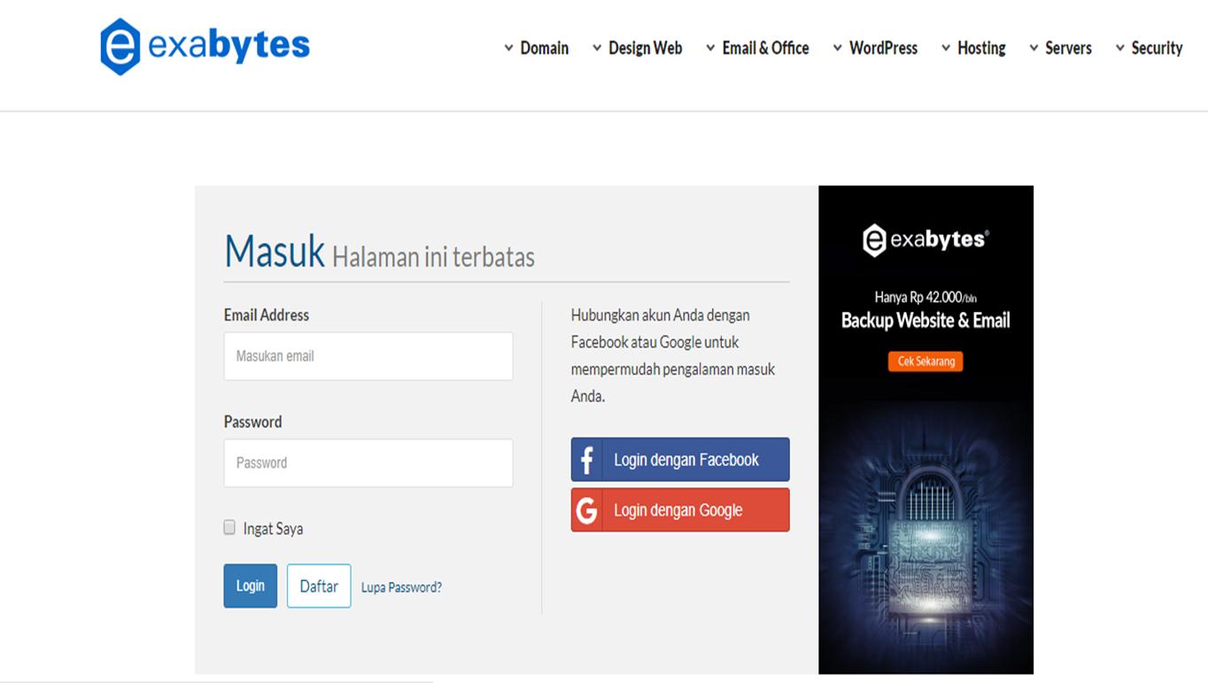 Panduan Mudah Mengikuti Program Afiliasi di Exabytes dan Raih Jutaan Rupiah - 2021