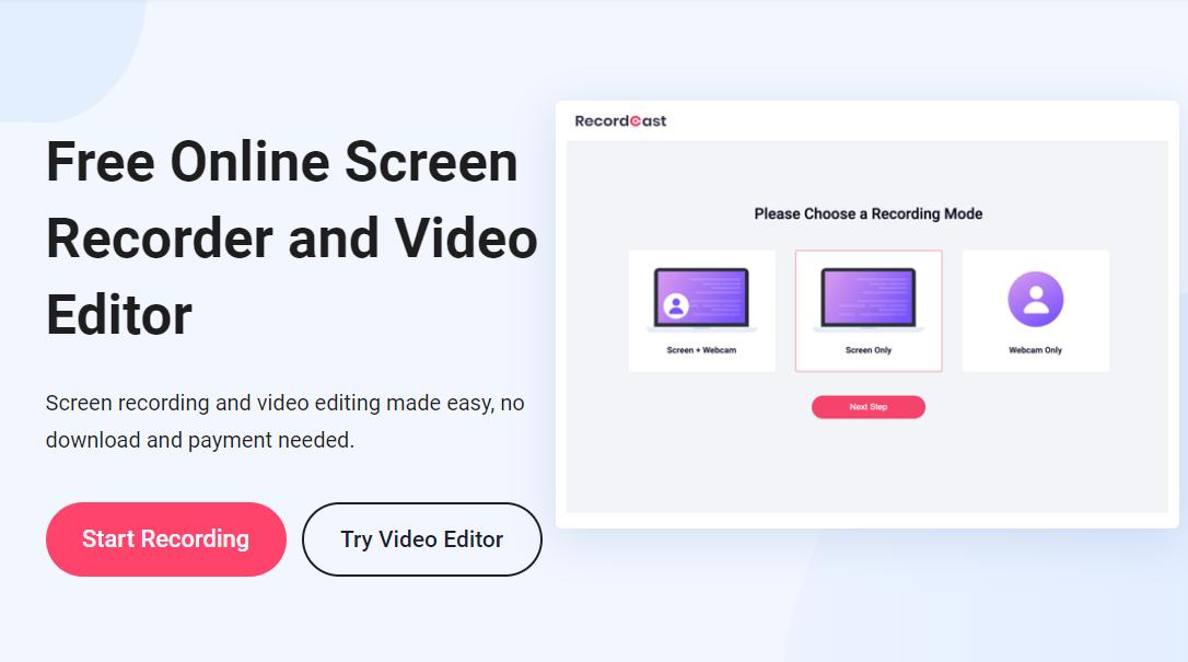 Online Screen Recorder Tools