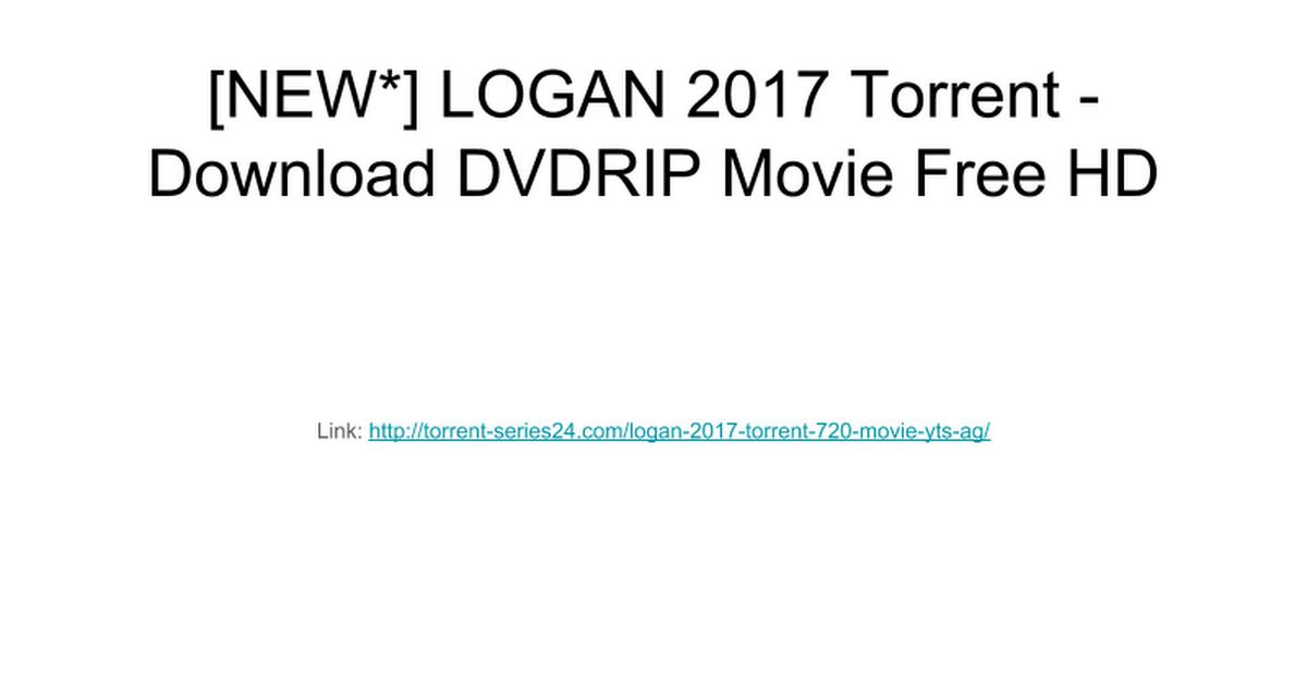 logan 2017 hd torrent download
