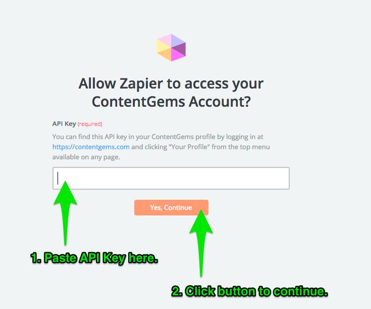 3 - Add API Key