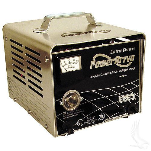 club car powerdrive charger