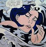 Image result for roy lichtenstein 'Girl Drowning'