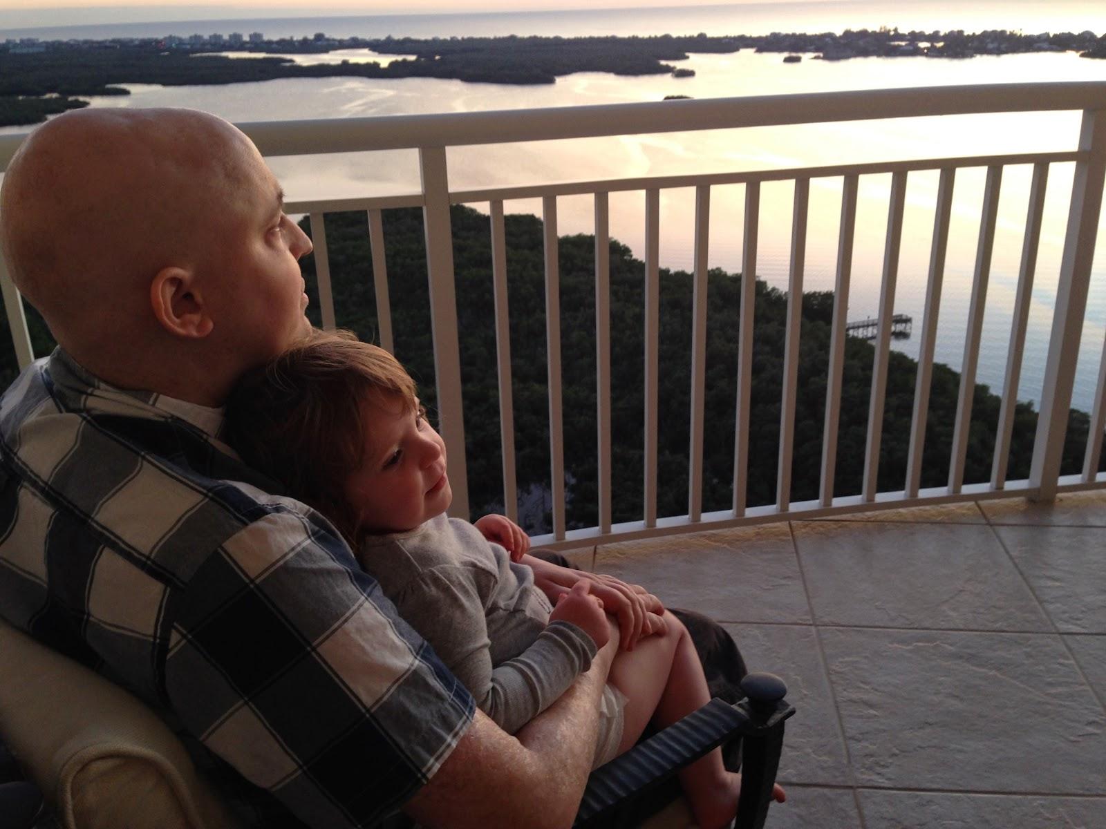 Greg and B sunset.JPG