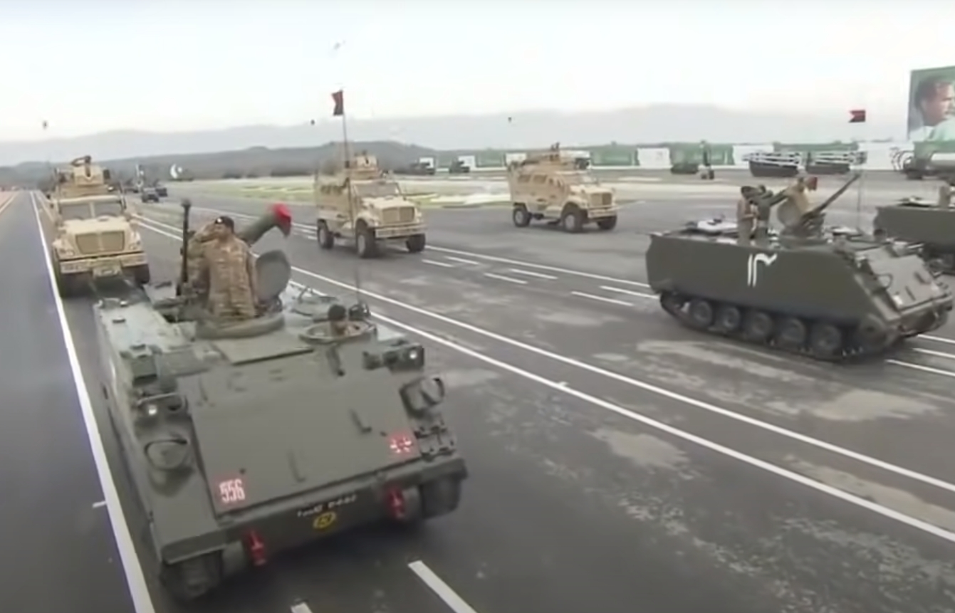IMAGE 3: M113 PA2 with TOW 2, belonging to 40 AK, XXXI corps