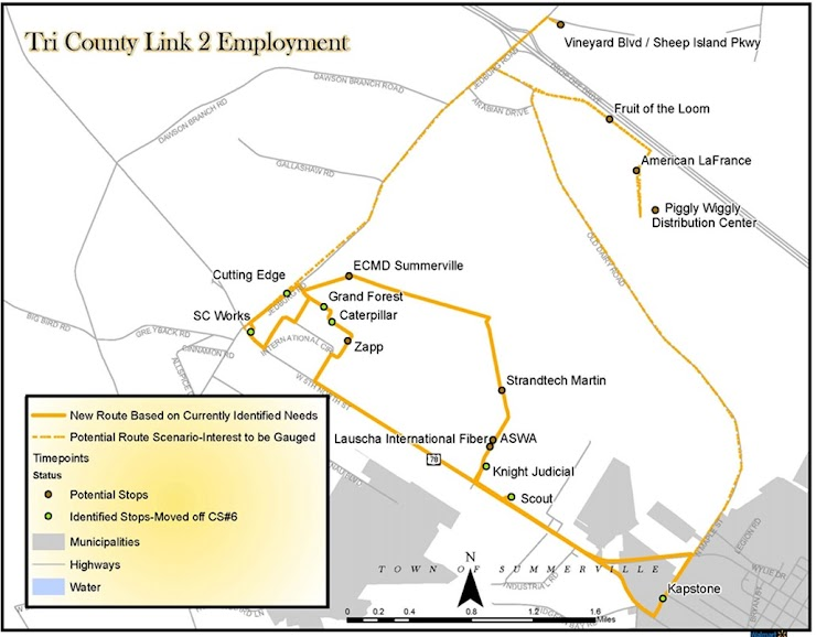 Schedule modifications to improve efficiency  Route will no longer service Ridgeville Town Hall Route extension to now service Jedburg employment area Please provide any comments below