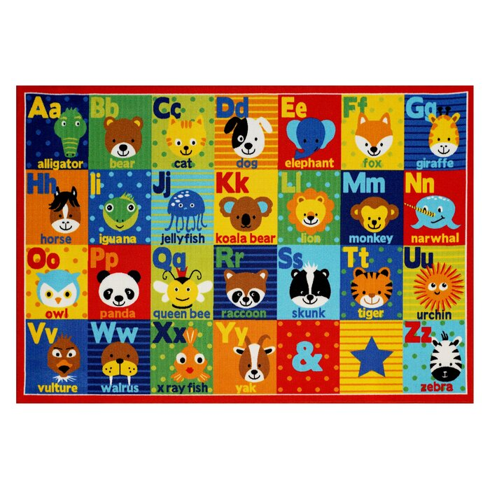 Kids Alphabet Area Rug