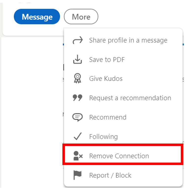 How to Remove Connections on LinkedIn on Profile