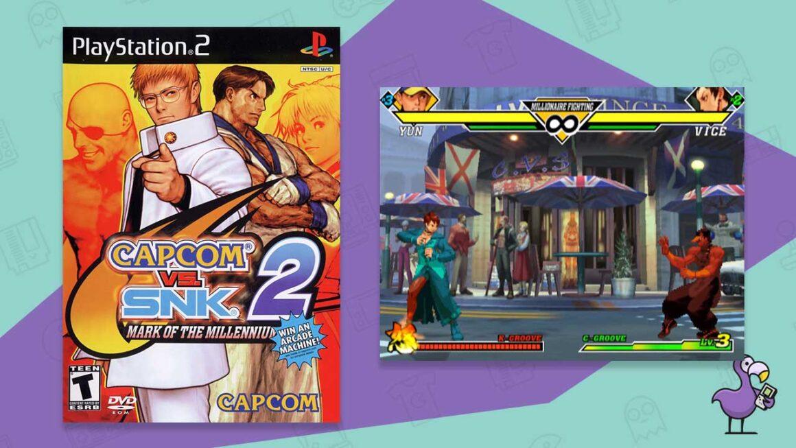capcom vs snk 2 ps2 fighting games
