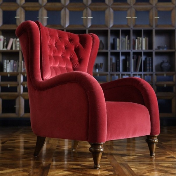 Современное вольтеровское кресло