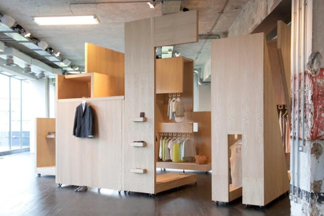 Cardboard-Pop-up-store-cartón-Madera-COS-0.1