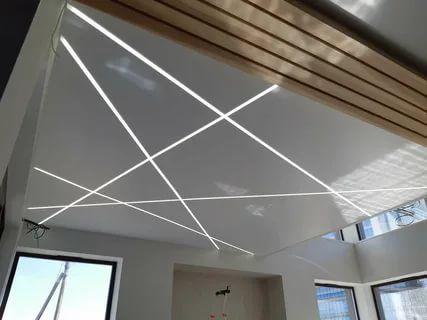 Modern Criss Cross Pattern On Roof