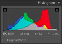 Advanced Lightroom editing: Histogram Menu - Frenchly Photography
