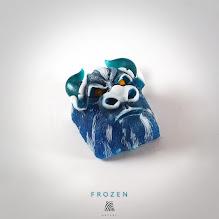 Artkey - Bull - Frozen
