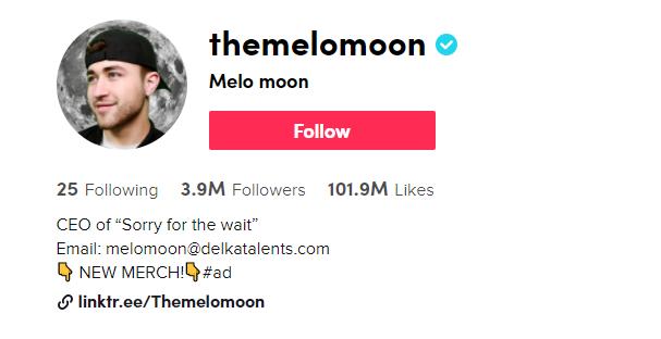 The Melo Moon TikTok