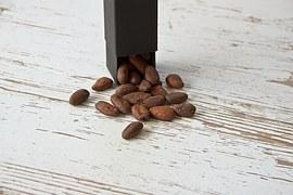 Cocoa Bean, Black, Brown, Food, Healthy