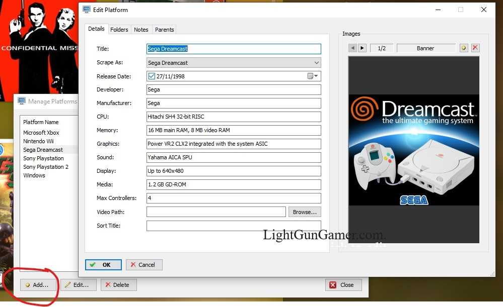 Dreamcast Light gun Games on the PC 8