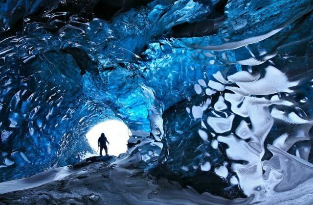 Кришталева печера, Ісландія