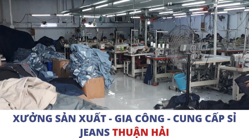 Công ty xưởng may quần jeanscủa Thuận Hải