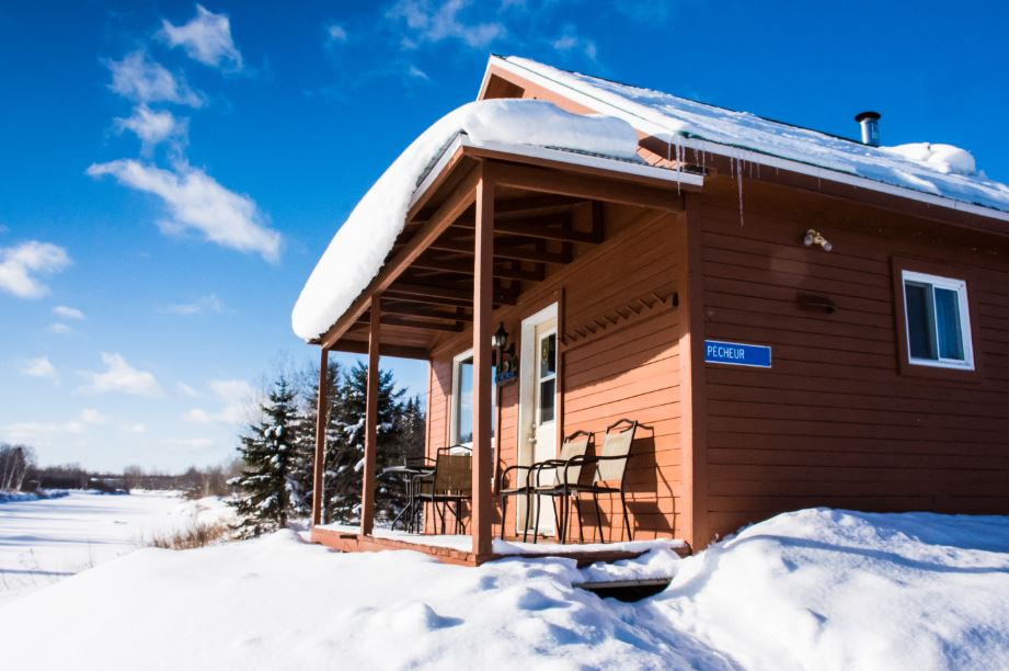Cottages for rent for 6 people in Quebec #8