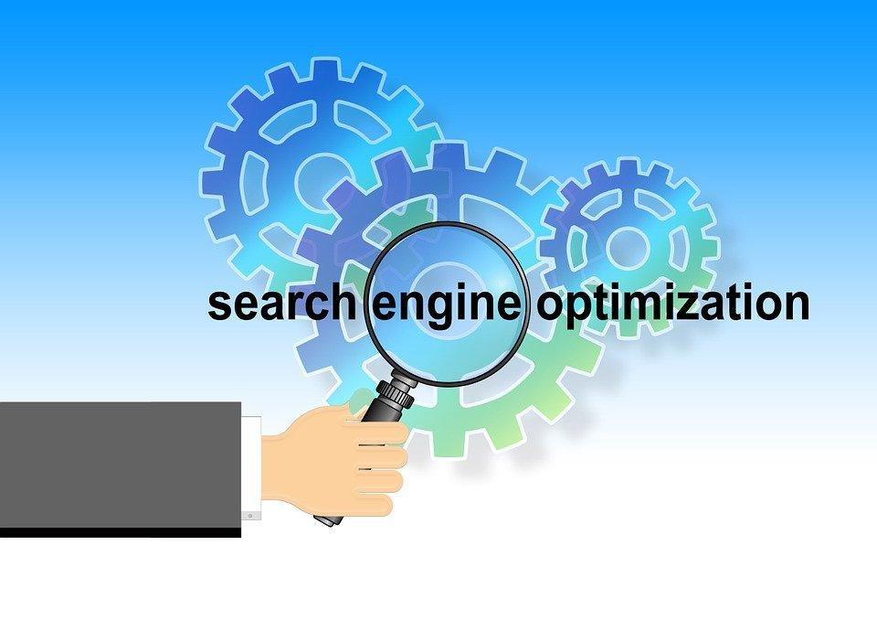 Hand, Keep, Magnifying Glass, Gears, Search
