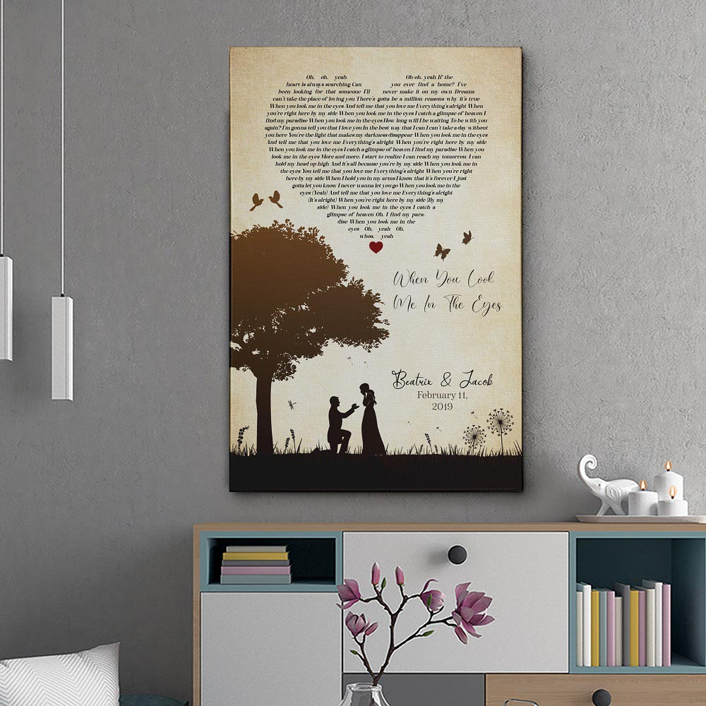 Design Your Wedding Anniversary Picture Wall