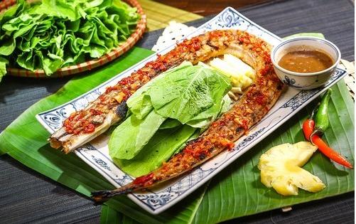 Các món ăn hấp dẫn với cá chìa vôi