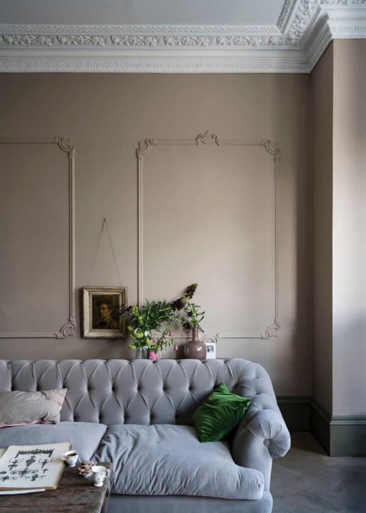 Room with Neutral Paint Colors