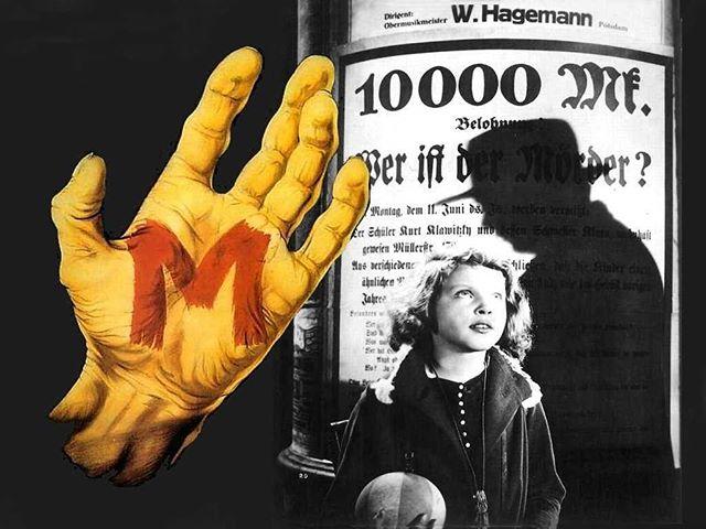 M, el vampiro de Düsseldorf (1931, Fritz Lang)