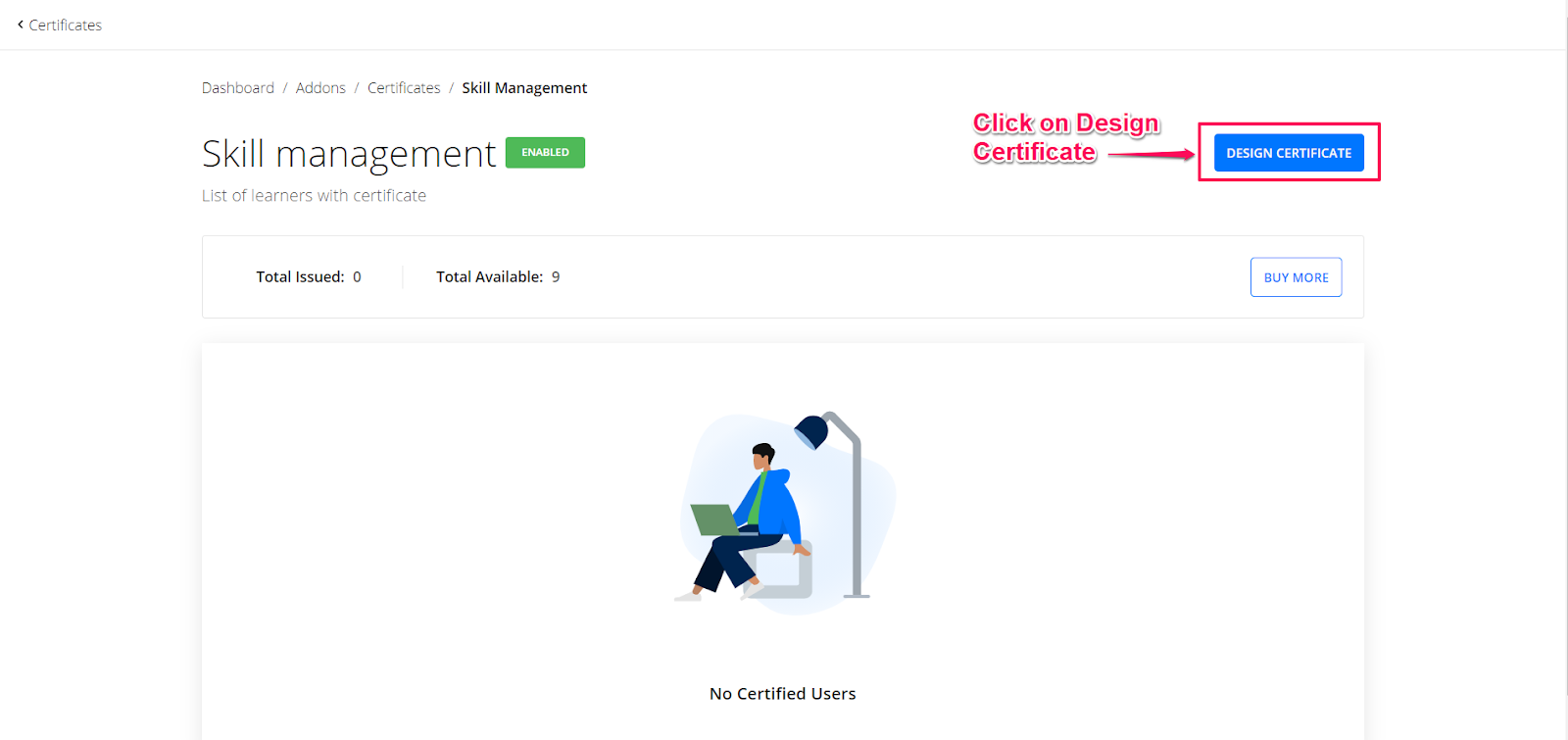 Course Completion Certificate Format