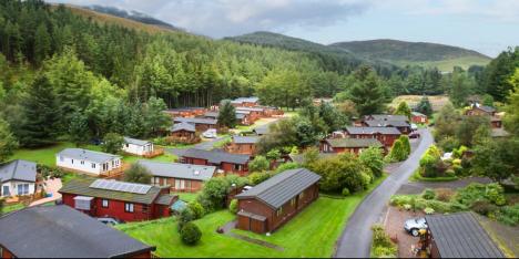 static caravans in Scotland