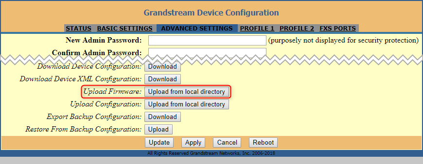 How to Configure a Grandstream HT Series FXS Gateway with 3CX