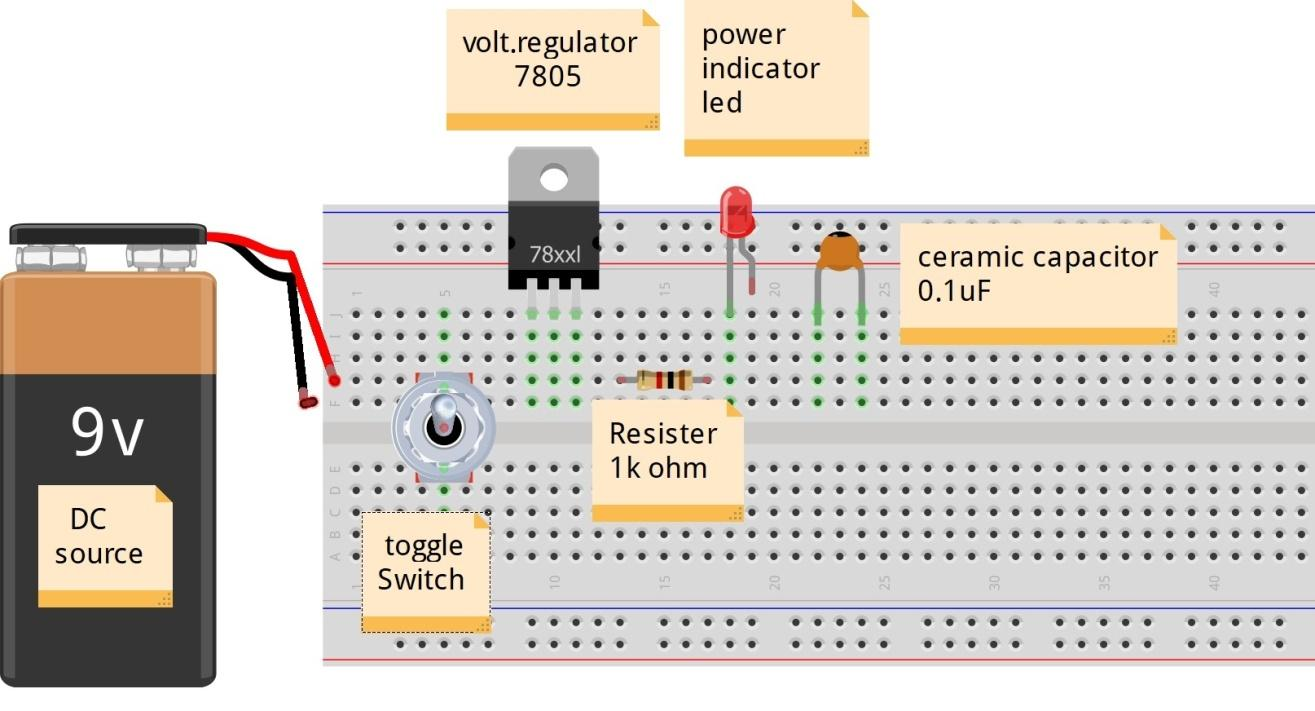 Make your own 5v output power bank
