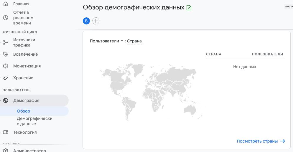 Карта кликов и поведения Google Analytics