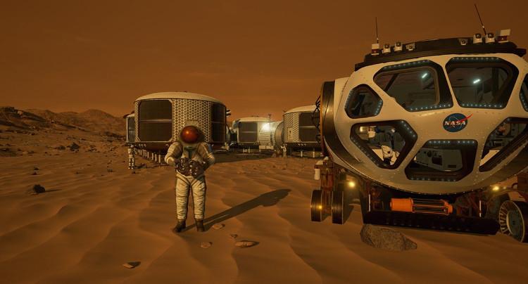 Người chơi sẽ sinh sống ở những khu môi trường sống nhân tạo cùng phi hành đoàn thành viên.