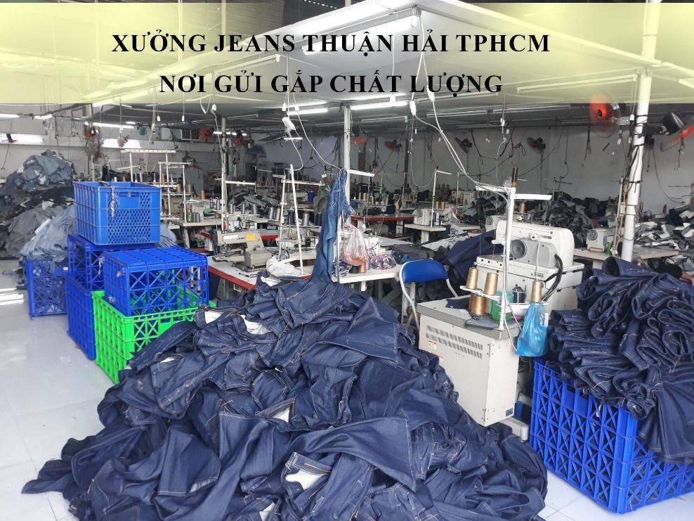 Xưởng jeans Thuận Hải TPHCM