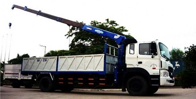 Kết quả hình ảnh cho dịch vụ cho thuê xe cẩu tải